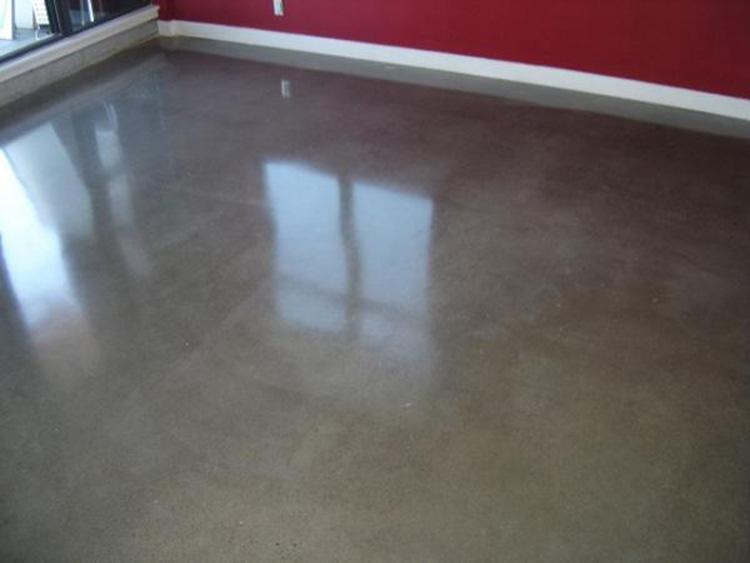 Polished Concrete In Apartment