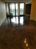 A stained and clear coated apartment in downtown Denver.